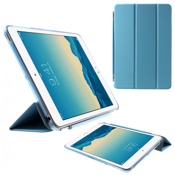 AppleKing smart Cover kryt / pouzdro pro Apple iPad mini 1. / 2. / 3. gen. - modré - možnost vrát