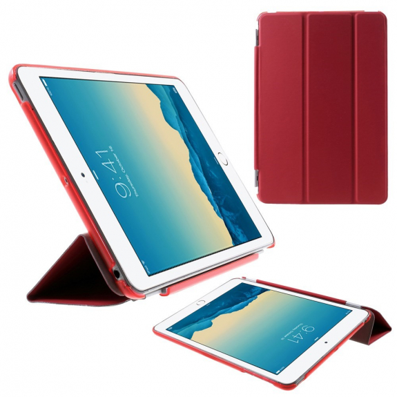 AppleKing smart Cover pouzdro pro iPad mini 1 / 2 / 3 - červené - možnost vrátit zboží ZDARMA do 30ti dní