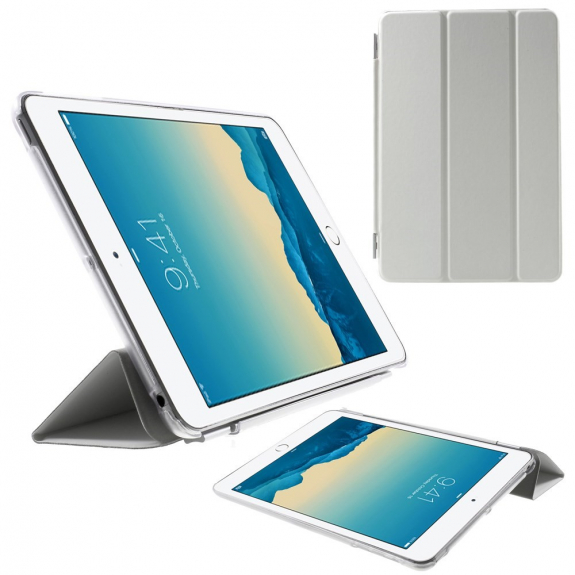 AppleKing smart Cover kryt / pouzdro pro Apple iPad mini 1. / 2. / 3. gen. - bílé - možnost vrát