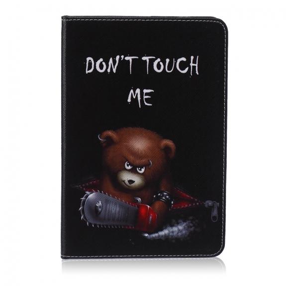 AppleKing pouzdro / kryt s integrovaným stojánkem pro iPad mini 1 / 2 / 3 - zlý medvěd - možnost vrátit zboží ZDARMA do 30ti dní