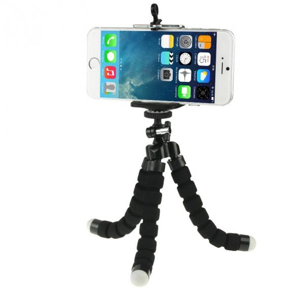AppleKing univerzální stativ / tripod pro Apple iPhone - černý - možnost vrátit zboží ZDARMA do 30ti dní