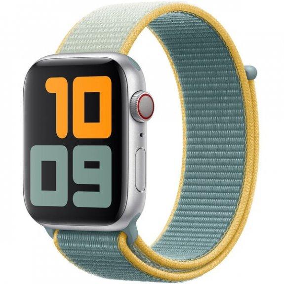 Originální provlékací sportovní řemínek pro Apple Watch 40mm / 38mm - paprskově žlutý MXMR2ZM/A - možnost vrátit zboží ZDARMA do 30ti dní