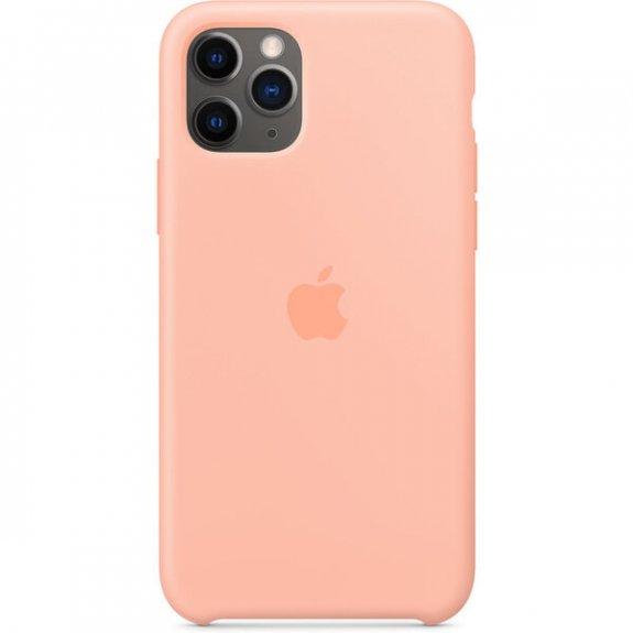 Apple silikonový kryt pro iPhone 11 - grepově růžový MXYX2ZM/A - možnost vrátit zboží ZDARMA do 30ti dní