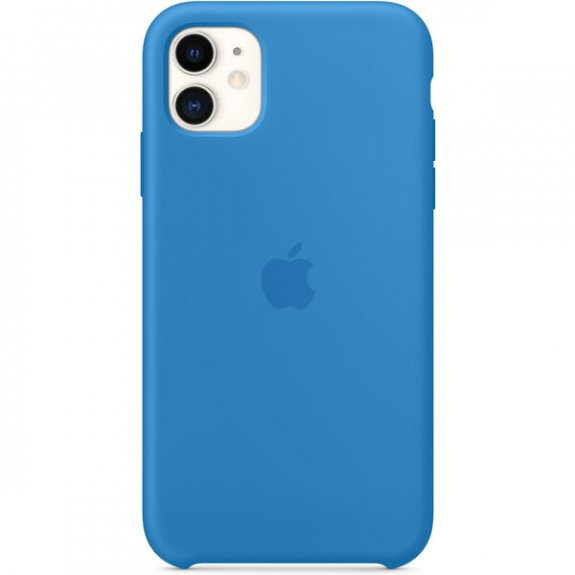 Apple silikonový kryt pro iPhone 11 - příbojově modrý MXYY2ZM/A - možnost vrátit zboží ZDARMA do 30ti dní