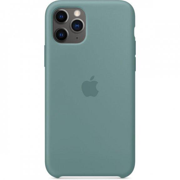 Apple silikonový kryt pro iPhone 11 Pro - kaktusově zelený MY1C2ZM/A - možnost vrátit zboží ZDARMA do 30ti dní