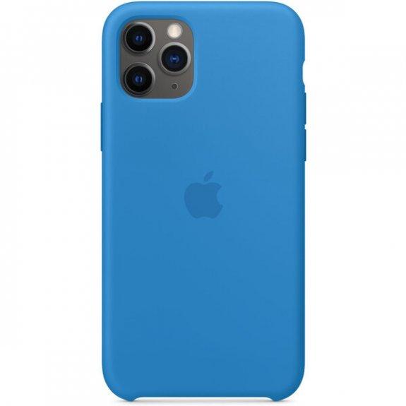 Apple silikonový kryt pro iPhone 11 Pro - příbojově modrý MY1F2ZM/A - možnost vrátit zboží ZDARMA do 30ti dní