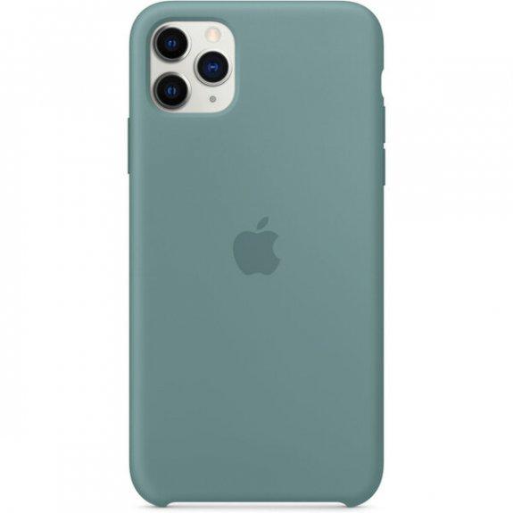 Apple silikonový kryt pro iPhone 11 Pro Max - kaktusově zelený MY1G2ZM/A - možnost vrátit zboží ZDARMA do 30ti dní