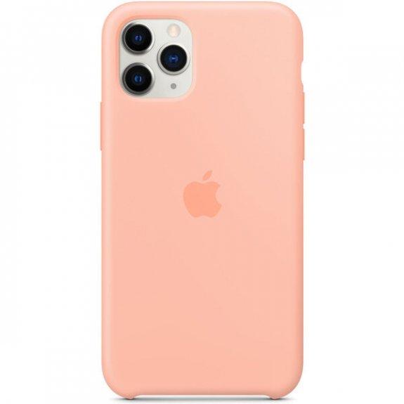 Apple silikonový kryt pro iPhone 11 Pro Max - grepově růžový MY1H2ZM/A - možnost vrátit zboží ZDARMA do 30ti dní