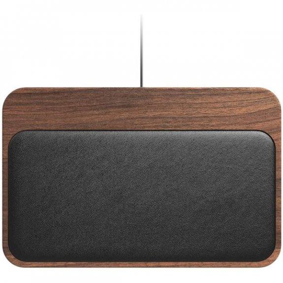 Nomad Base Station Hub Edition duální bezdrátová nabíječka pro iPhone / AirPods - ořech NM300W4A00 - možnost vrátit zboží ZDARMA do 30ti dní