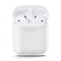 Silikonový voděodolný ochranný obal pro Apple AirPods - bílá
