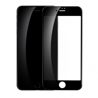 BASEUS tvrzené 3D sklo pro celý obvod telefonu pro iPhone 8 / 7 - 0.23mm - černá