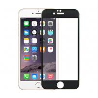 Tvrzené 3D sklo na celý obvod telefonu pro iPhone 6S / 6 - 0.3mm - černá