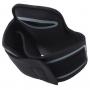 Sportovní pouzdro na ruku s průchodem na sluchátka pro iPhone 5 / 5S / SE / 4 / 4S - černé