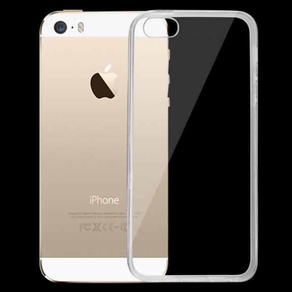 AppleKing tenký průhledný ochranný kryt pro iPhone 5 / 5S / SE - možnost vrátit zboží ZDARMA do 30ti dní