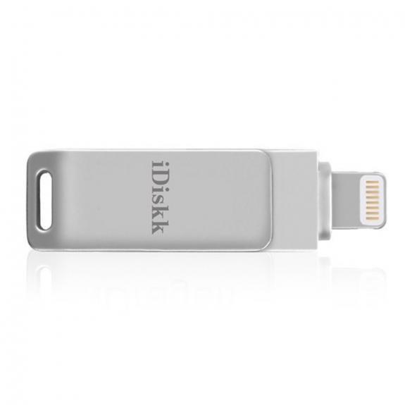 IDISKK přídavná flash paměť Lightning / USB 2.0 pro iPhone / iPad / MacBook - 64 GB - možnost vrátit zboží ZDARMA do 30ti dní