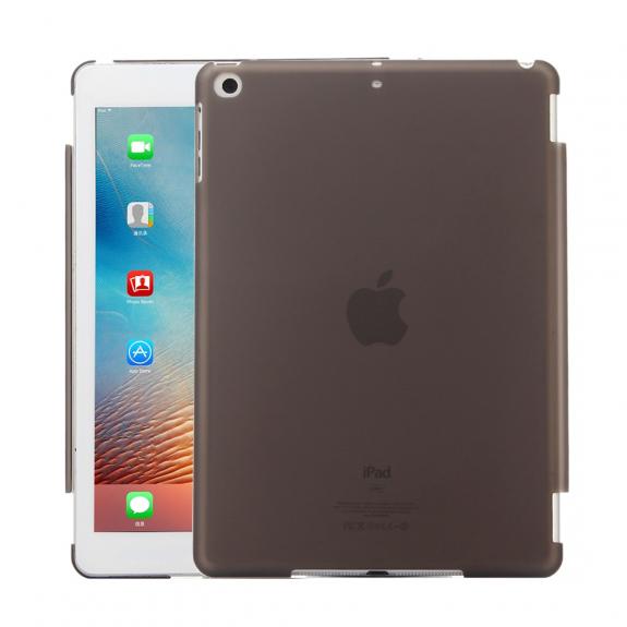 """AppleKing ochranný obal z tvrzeného plastu pro iPad 9.7"""" (2017/2018) / iPad Air - černá - možnost vrátit zboží ZDARMA do 30ti dní"""