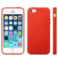 Kryt v originálním Apple designu pro iPhone 5 / 5S / SE - červený