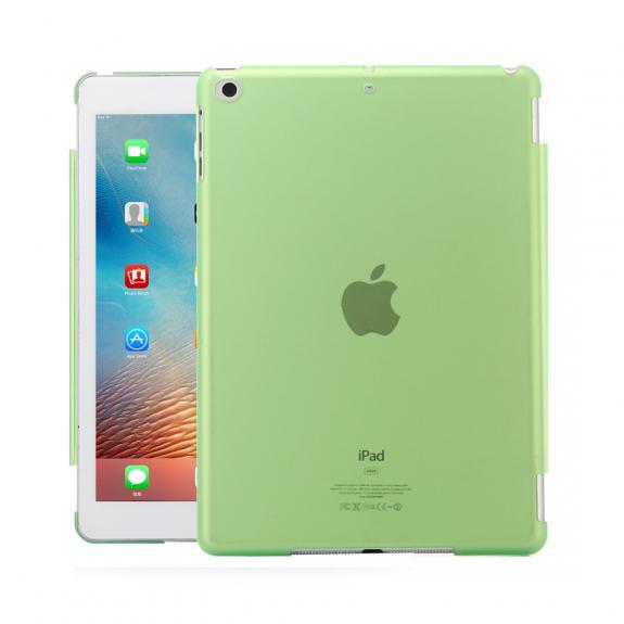 """AppleKing ochranný obal z tvrzeného plastu pro iPad 9.7"""" (2017/2018) / iPad Air - zelená - možnost vrátit zboží ZDARMA do 30ti dní"""