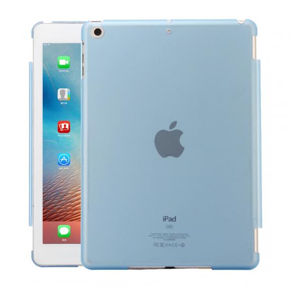 """AppleKing ochranný obal z tvrzeného plastu pro iPad 9.7"""" (2017/2018) / iPad Air - modrá - možnost vrátit zboží ZDARMA do 30ti dní"""