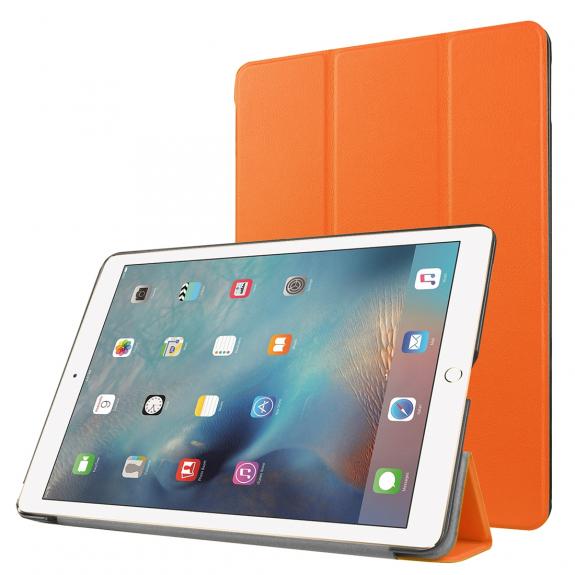 """AppleKing smart Cover s funkcí uspání pro Apple iPad Pro 9.7"""" / iPad Air 2 - oranžová - možnost vrátit zboží ZDARMA do 30ti dní"""