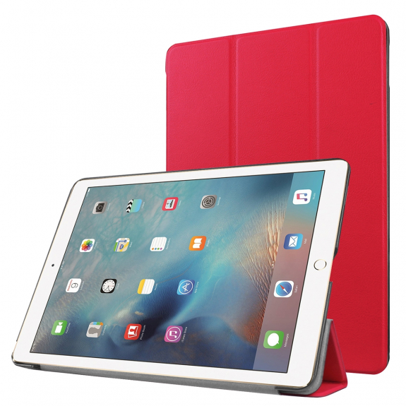 """AppleKing smart Cover pro Apple iPad Pro 9.7"""" / iPad Air 2 - červená - možnost vrátit zboží ZDARMA d"""