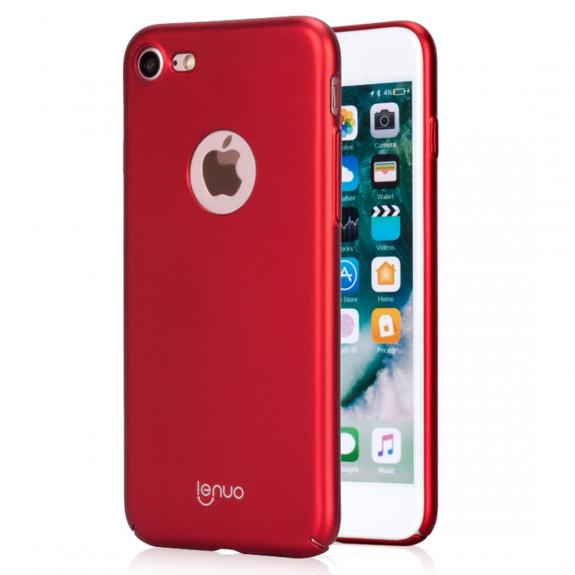 AppleKing luxusní a ultratenký kryt pro Apple iPhone iPhone 8 - červená - možnost vrátit zboží ZDARM
