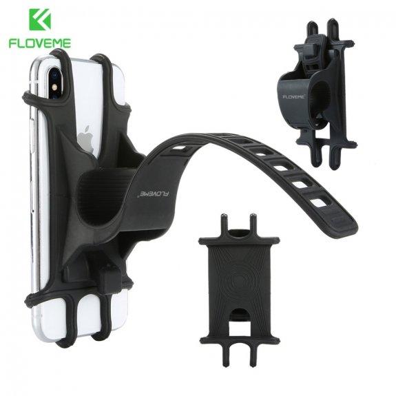 Floveme silikonový držák na řídítka pro iPhone (10 - 15,5 cm) - možnost vrátit zboží ZDARMA do 30ti dní