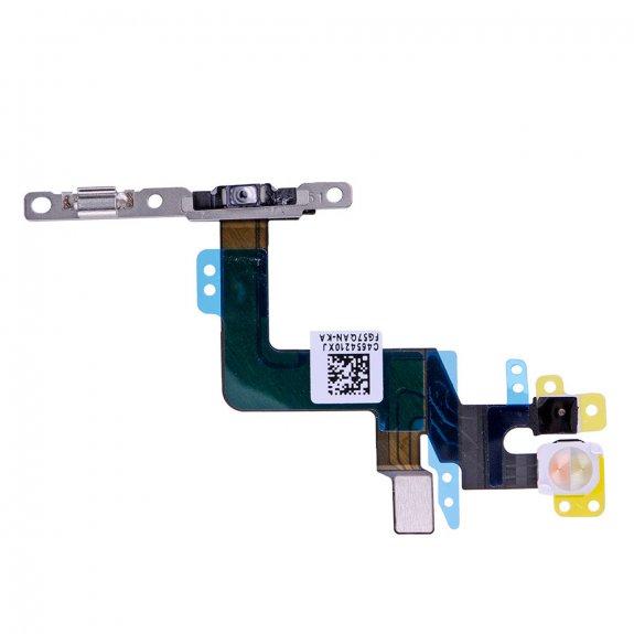 AppleKing flex kabel s mikrospínačem Power, bleskem kamery a vrchním mikrofonem pro Apple iPhone 6S Plus - možnost vrátit zboží ZDARMA do 30ti dní