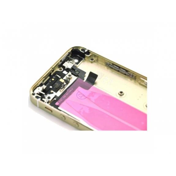 AppleKing plně osazený náhradní zadní kryt pro Apple iPhone 5S - zlatý -  možnost vrátit zboží c62a5fd8bf5