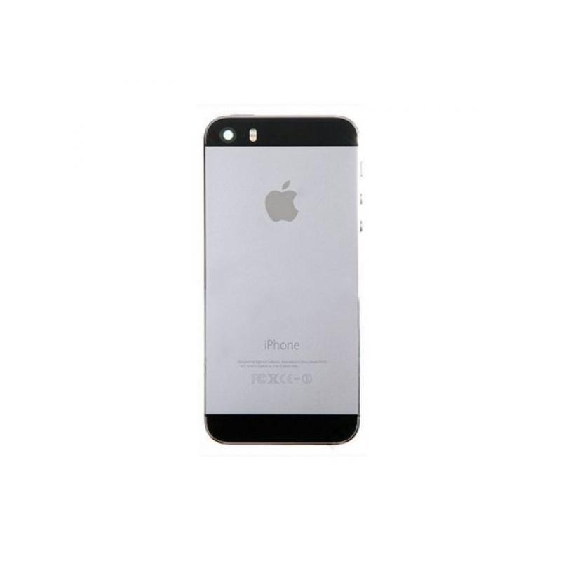 Plně osazený náhradní zadní kryt pro Apple iPhone SE - Space Grey ... b1af3c57634