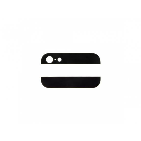 AppleKing horní a dolní sklo zadního krytu pro iPhone 5S - černé - možnost vrátit zboží ZDARMA do 30ti dní
