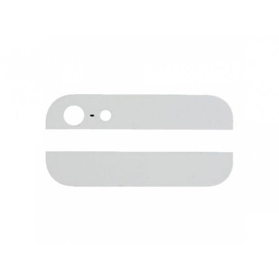 AppleKing horní a dolní sklo zadního krytu pro iPhone 5S - bílé - možnost vrátit zboží ZDARMA do 30ti dní