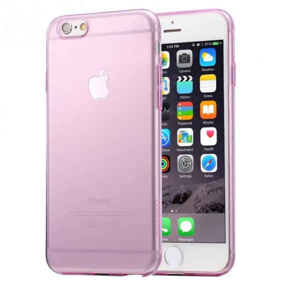 HAWEEL ultra tenký (0.3mm) průhledný ochranný kryt pro iPhone 6 / 6S - růžový - možnost vrátit zboží ZDARMA do 30ti dní