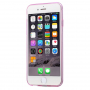 HAWEEL ultra tenký (0.3mm) průhledný ochranný kryt pro iPhone 6 / 6S - růžový