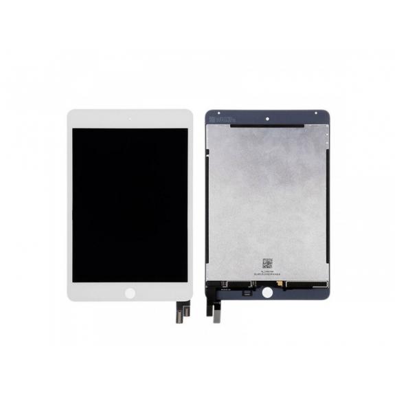 AppleKing náhradní LCD panel + přední dotykové sklo (touch screen) pro Apple iPad Mini 4 - bílý rámeček - možnost vrátit zboží ZDARMA do 30ti dní