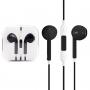 Sluchátka s mikrofonem a dálkovým ovládáním pro Apple zařízení - černá