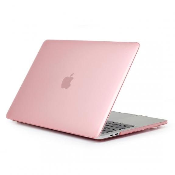 """ENKAY 2v1 ochranný obal a ultra tenký kryt EU klávesnice pro Macbook Pro 13"""" bez Touch Baru (model A1708) - růžový - možnost vrátit zboží ZDARMA do 30ti dní"""