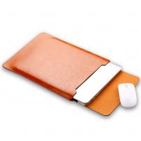 """SOYAN obálka s podložkou pro Apple MacBook 13"""" - mikrovlákno - hnědá"""