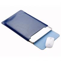 """SOYAN obálka s podložkou pro Apple MacBook 13"""" - mikrovlákno - modrá"""