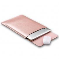 """SOYAN obálka s podložkou pro Apple MacBook 13"""" - mikrovlákno - Rose Gold"""