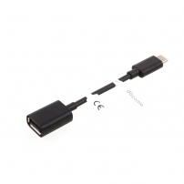 Redukce z USB-C na USB 3.0 pro Apple Macbook - délka 11.5 cm - černá
