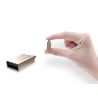 REMAX Redukce z USB-C na USB 3.0 - stříbrná