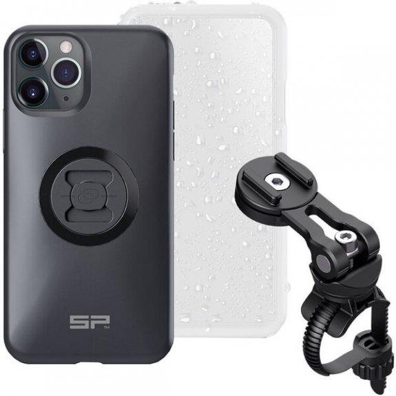 SP CONNECT sP Bike Bundle II otočný držák na kolo s krytem proti dešti pro iPhone X / XS / 11 Pro - černý 54422 - možnost vrátit zboží ZDARMA do 30ti dní
