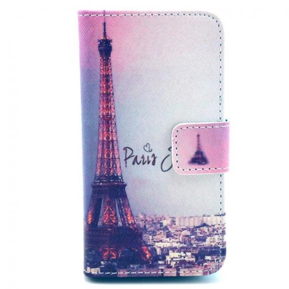 AppleKing pouzdro se stojánkem a sloty na karty pro Apple iPhone 4 / 4S - Paříž a Eiffelovka - možnost vrátit zboží ZDARMA do 30ti dní