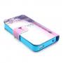 Pouzdro se stojánkem a sloty na karty pro Apple iPhone 4 / 4S - Paříž a Eiffelovka