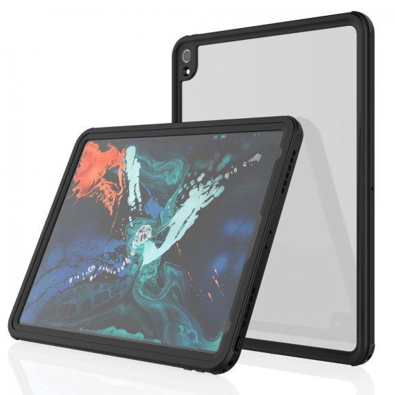 """AppleKing vodě a prachu odolný kryt na přední i zadní stranu iPad Pro 12,9"""" (2018) - možnost vrátit zboží ZDARMA do 30ti dní"""