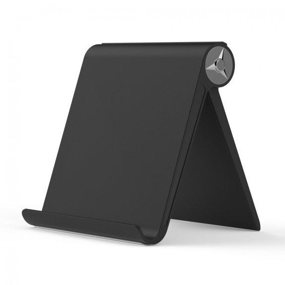 Topk sklápěcí stolní stojánek na iPhone / iPad - černý - možnost vrátit zboží ZDARMA do 30ti dní