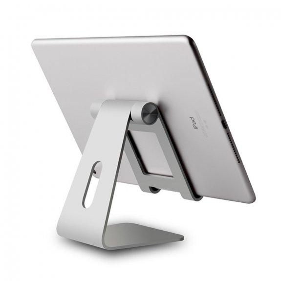 Upergo nastavitelný stolní stojan pro iPad / iPhone - stříbrný - možnost vrátit zboží ZDARMA do 30ti dní