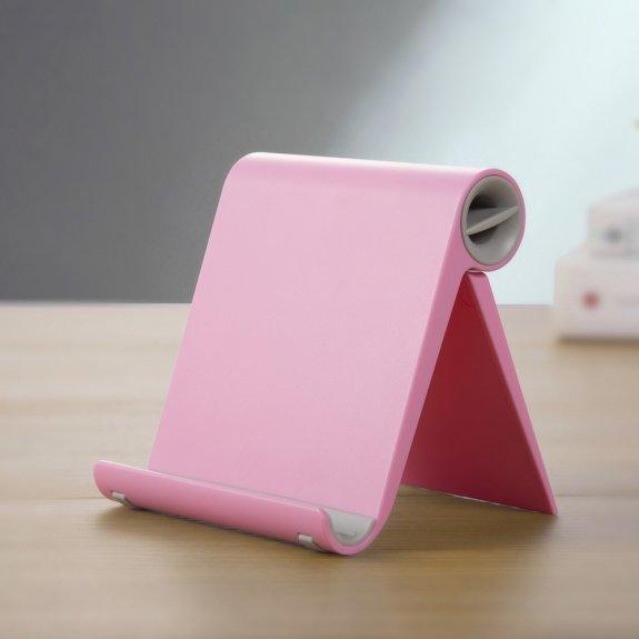 AppleKing sklápěcí stolní stojánek na iPhone / iPad - růžový - možnost vrátit zboží ZDARMA do 30ti dní