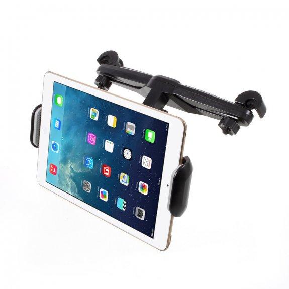 AppleKing 360° otočný polohovatelný držák na opěrku hlavy do auta pro iPad (15,5 - 25,5 cm) - možnost vrátit zboží ZDARMA do 30ti dní